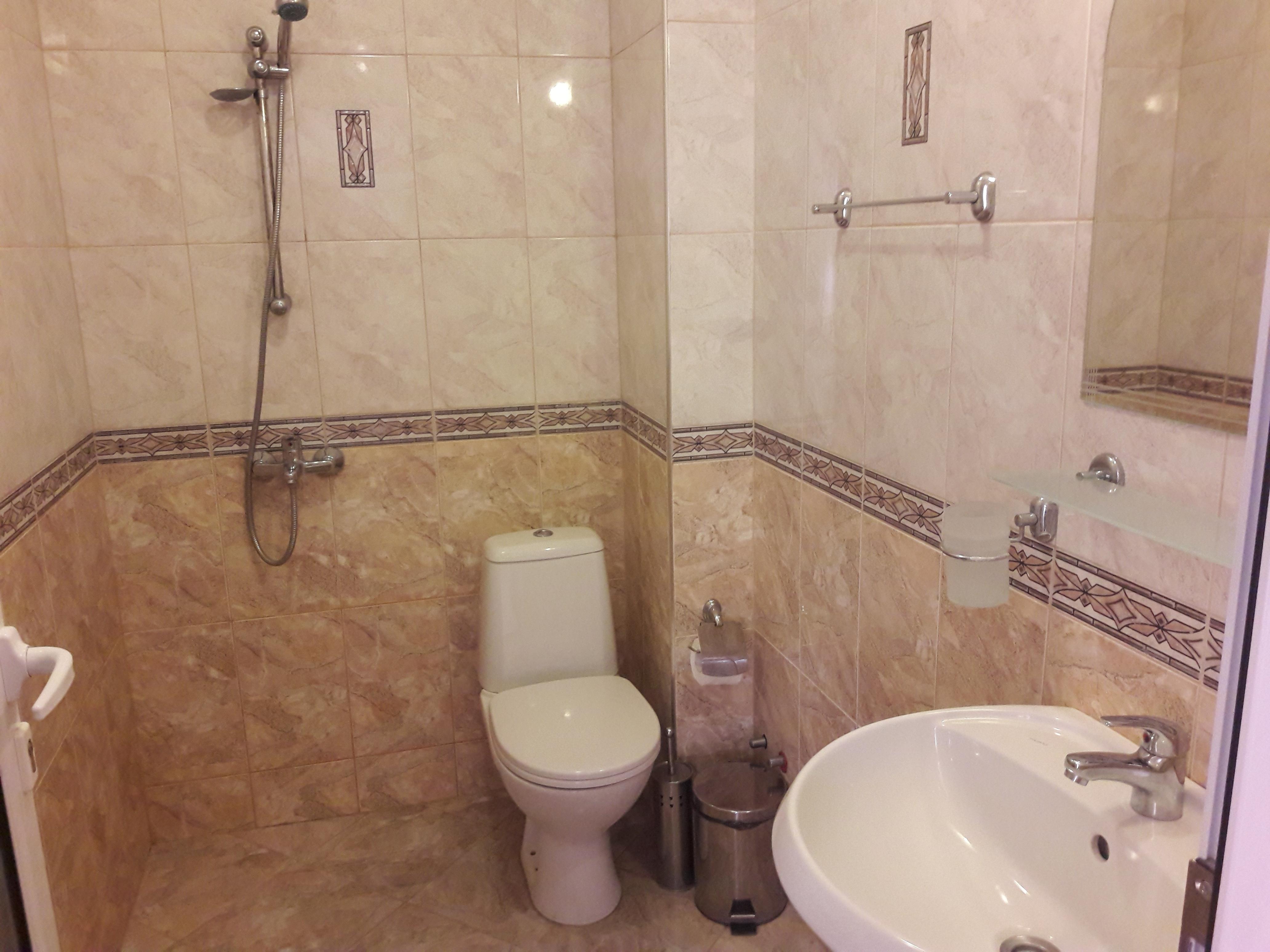 bathroom in hotel Bellssimo Lozenets, Bulgaria