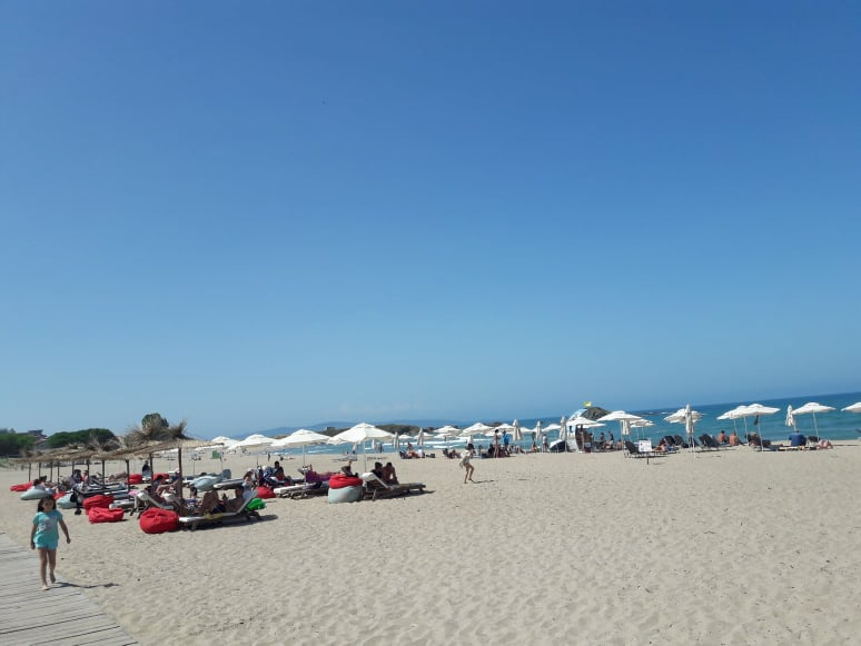 summer beach lozenets free lounge Bellissimo